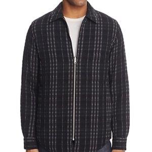 NWT! Theory Reversible Zip Shirt Jacket